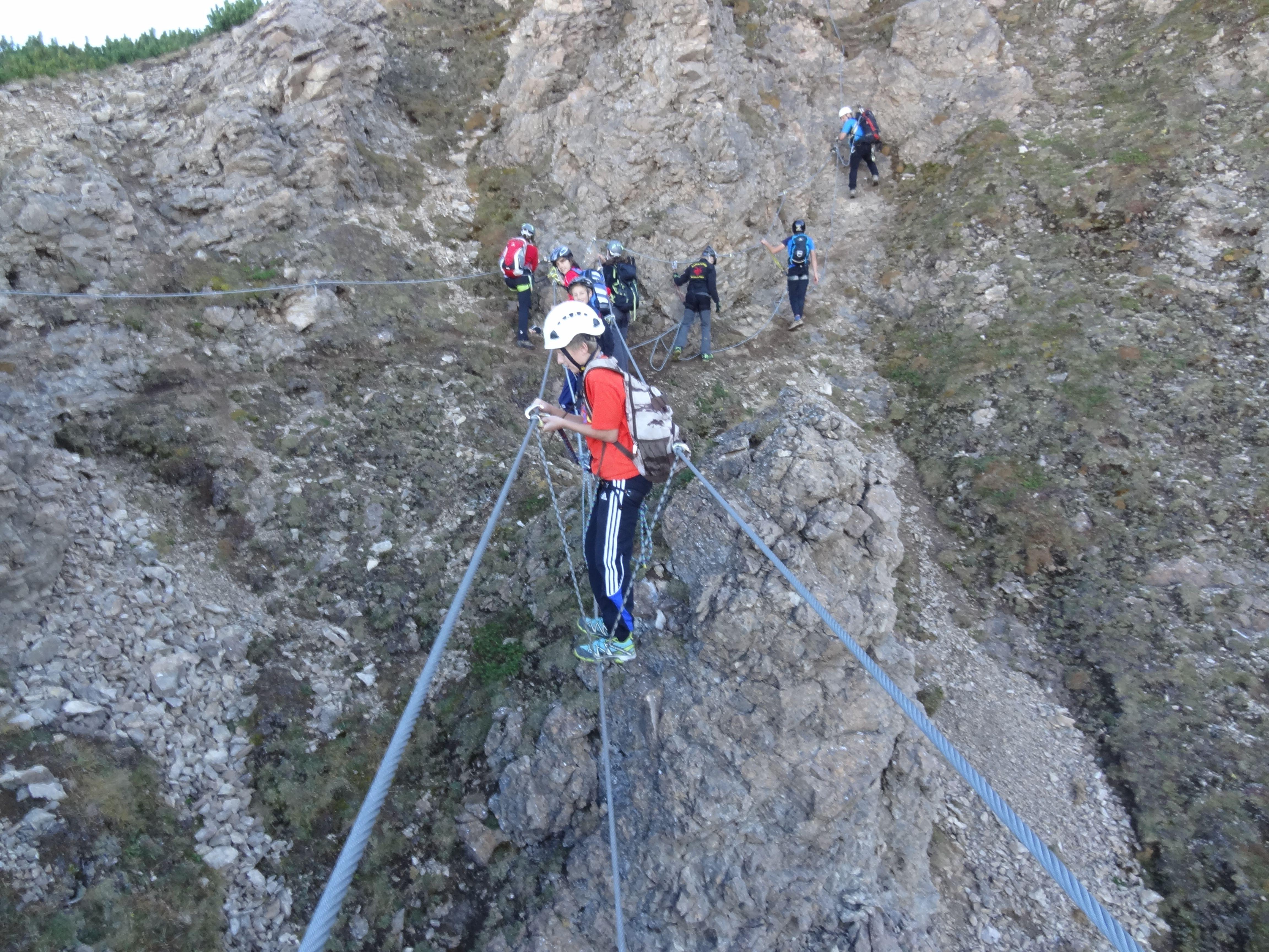 Klettersteig Kinder : Klettern für kinder am kronplatz im kikeriki park und
