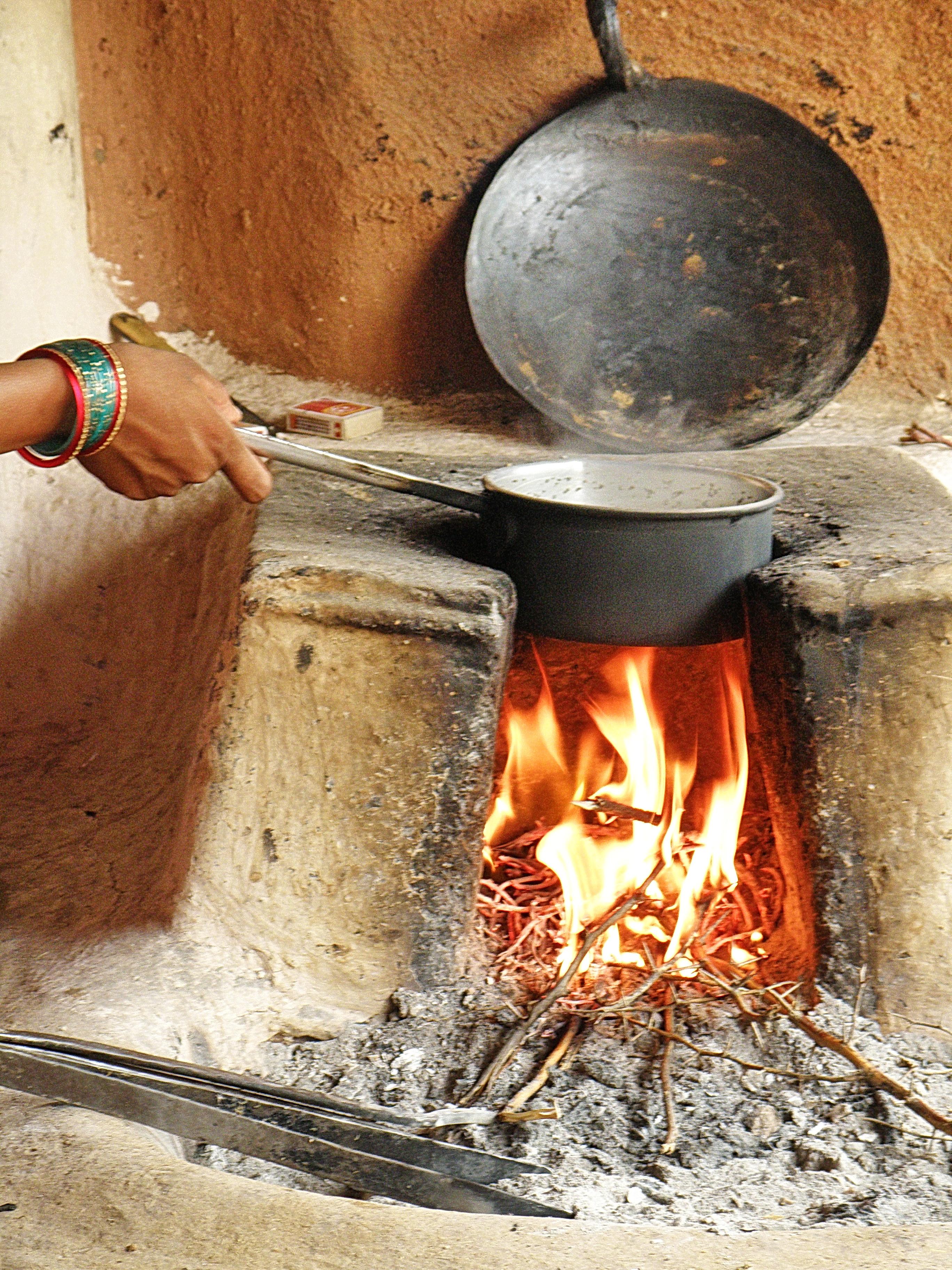 Hochwertig Jodhpur   Vishnoi People   Feuerstelle   Herd